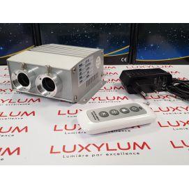 kit RGBW 2*188 fibres optiques