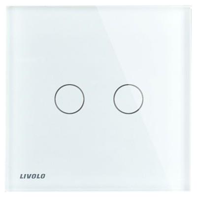 Interrupteur Tactile LIVOLO 2 boutons / 1 voie