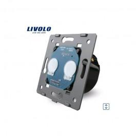 Livolo Commande volet roulant - store 2 boutons VL-C702WR
