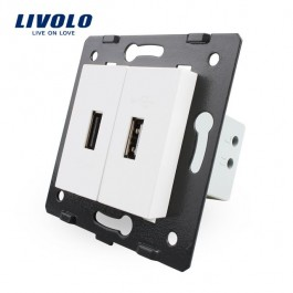 Livolo Prise murale USB Double