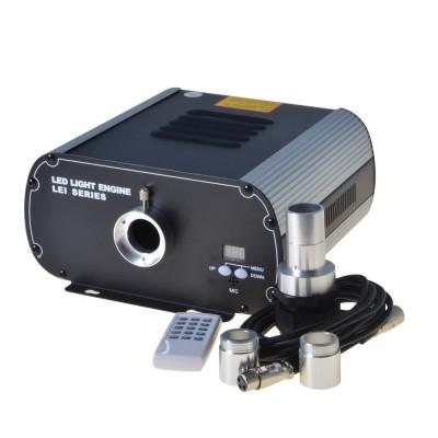 Générateur de lumière LED Pro - 40W- 6 couleurs RGB LEJ-4001-DMX