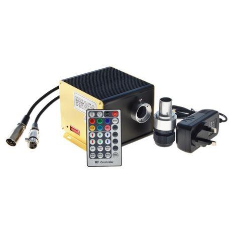 Générateur LED scintillant 4*3 Watts RGBW DMX