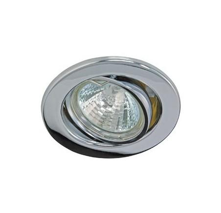 Collerette orientable pour plafond tendu Chrome R55054