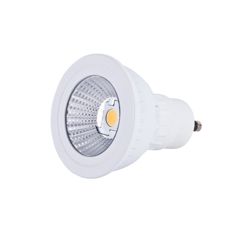 spot led gu10 cob 5w sharp achat vente d 39 ampoule gu10 5w dimmable. Black Bedroom Furniture Sets. Home Design Ideas
