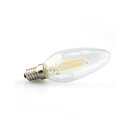 Ampoule flamme E14 FILAMENT LED 2 Watts
