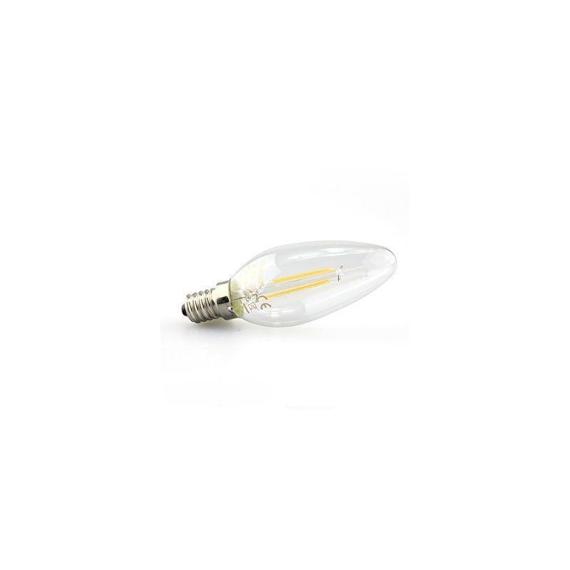 led e14 flamme filament 2w achat vente d 39 ampoule filament led e14. Black Bedroom Furniture Sets. Home Design Ideas