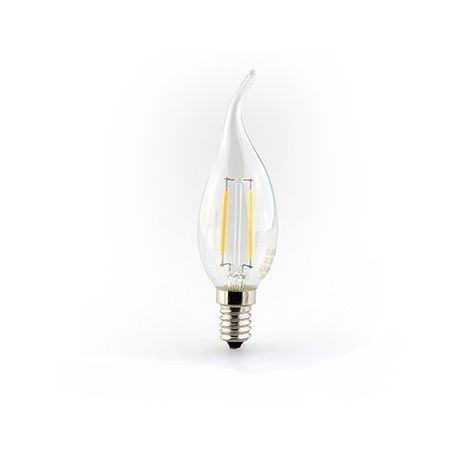 Ampoule flamme retro E14 FILAMENT LED 2 Watts