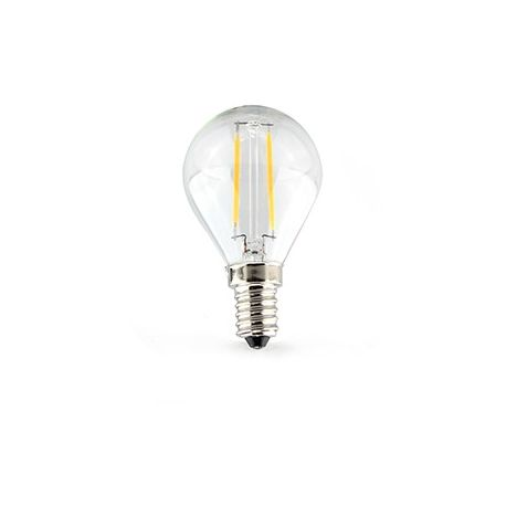 Ampoule ronde E14 FILAMENT LED 2 Watts