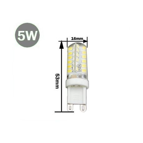 Ampoule G9 SMD 3014 LED 5 Watts