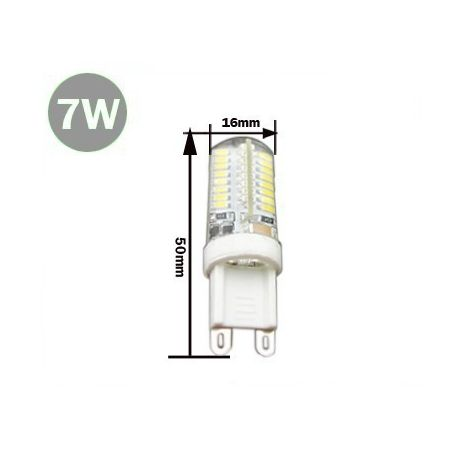 Ampoule G9 SMD 3014 LED 7 Watts