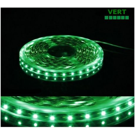 Ruban vert LED SMD 3528 non étanche