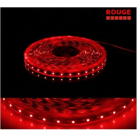 Ruban rouge LED SMD 3528 semi étanche