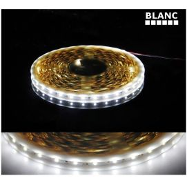 Ruban blanc LED SMD 5050 non étanche