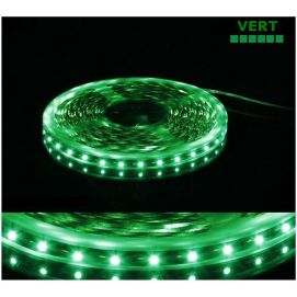 Ruban vert LED SMD 5050 semi-étanche