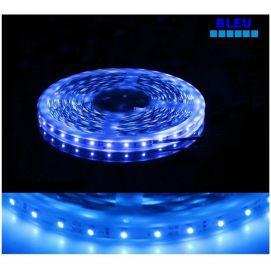 Ruban Bleu LED SMD 5050 semi-étanche