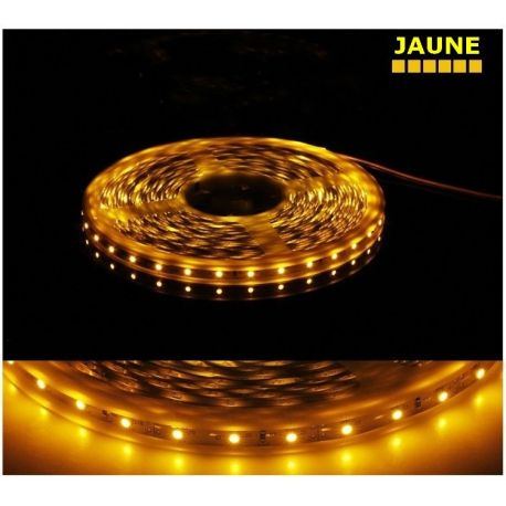 Ruban jaune LED SMD 5050 étanche