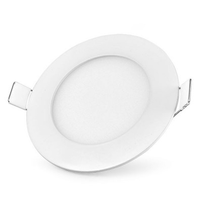 Dalle LED ronde ultra plate 6 Watts