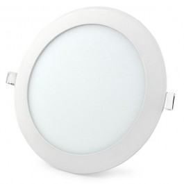 Dalle LED ronde ultra plate 12 Watts