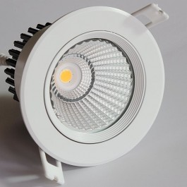 Downlight COB LED rond Blanc dichroîde