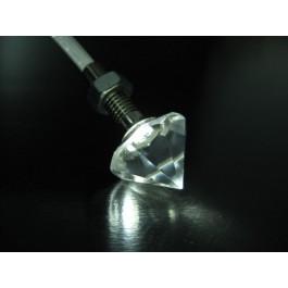Embout Cristal et inox MCE-013