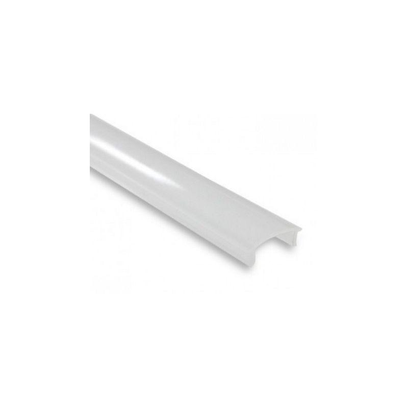 profil en alu 2m avec couvercle blanc prot gez vos rubans led. Black Bedroom Furniture Sets. Home Design Ideas