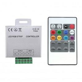 Contrôleur de couleur RGB avec télécommande slim HF
