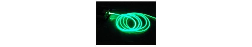 Fibre optique Side Glow PMMA
