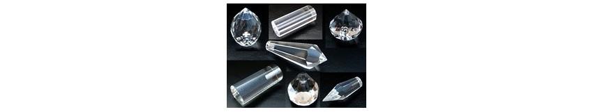 Embouts pour fibre optique cristal